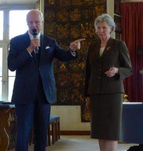 Staffan de Mistura och Birgitta Holst Alani